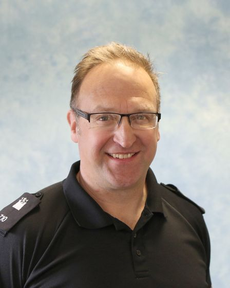 Mike Small, community engagement officer with Suffolk Police PIcture: SUFFOLK POLICE