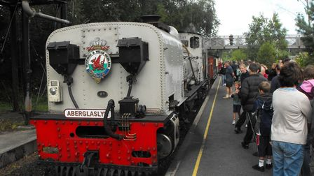 The Welsh Highland Railway - a tourist hotspot in North Wales. Picture; PAUL GEATER