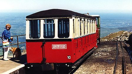 How do you think we reached the top of Snowdon when there's a rack-and-pinion railway running to the