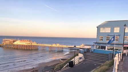 We're not going to stay in Cromer on holiday this year - but I was there on my second day-trip of th