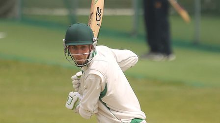 James Scott, who top-scored with 58 in Mistley's defeat at league leaders Wivenhoe. Picture: SEANA H