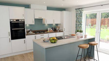 Interior of a new Abel Homes house atHare�s Green in Watton Picture: NEWMAN ASSOCIATES PR
