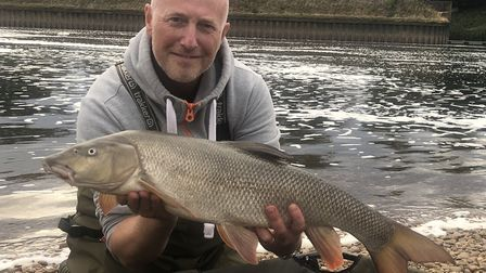 Angling Direct chief executive Darren Bailey fishing Picture: ANGLING DIRECT
