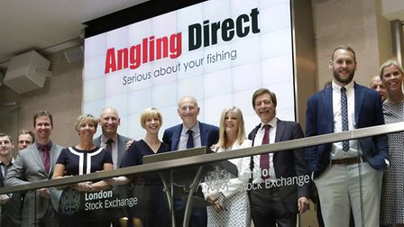 Management team and advisers at Angling Direct Picture: ANGLING DIRECT