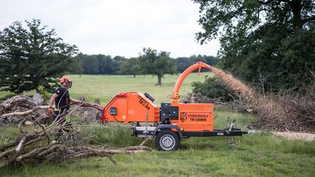 A Timberwolf 230DHB Wood Chipper Picture: JOSEPH CASEY PHOTOGRAPHY