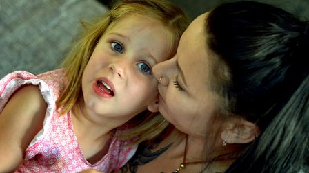 Mum Tannine says they have been allowed through border control with the medication as the cannabis l