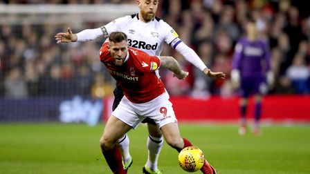 Daryl Murphy has started 43 games in his two seasons for Nottingham Forest. Photo: PA