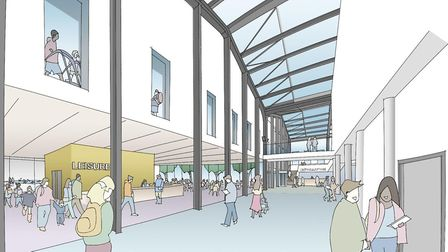 An artist's impression of what the new Western Way public services hub could look like Picture: WEST