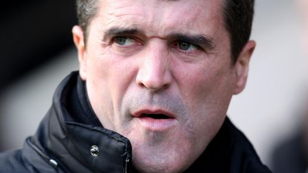 Roy Keane, on the look-out for a new job Photo: PA