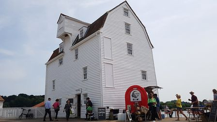 The Tide Mill Living Museum was open to visitors on the 181st Woodbridge Regatta Picture: RACHEL