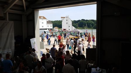 People were able to visit the Tide Mill Living Museum for free Picture: RACHEL EDGE