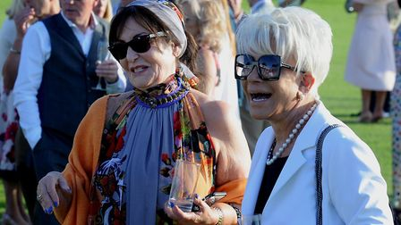 Margaret Horsman and Elizabeth Taylor at the GeeWizz Midsummer Ball. PICTURE: Andy Abbott