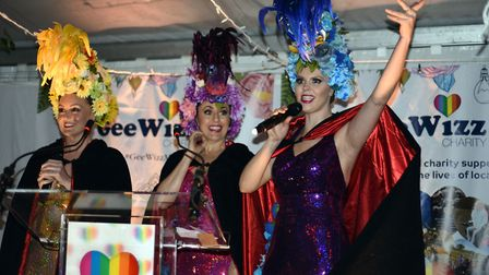 Queens of the Night were among the performers to provide entertainment PICTURE: Andy Abbott