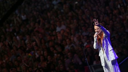 Jess Glynne review of performance in Thetford Forest. Picture: JOCKEY CLUB RACECOURSES
