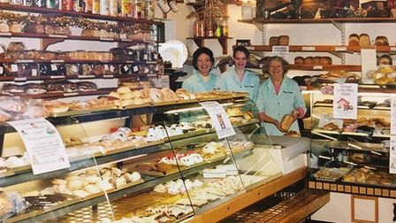 Counter culture: Angela Bentley, Elle Green and Doreen Stirzaker in Palmers' Haughley shop Picture