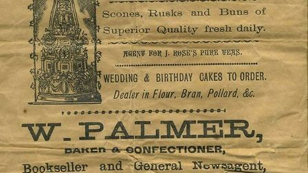 A fascinating souvenir of the William Palmer era Picture: FAMILY COLLECTION
