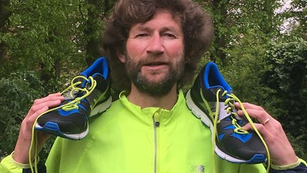 Carl Marston, who has helped to set up a new 'Run Suffolk' facebook page for runners across the coun
