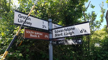 Boxford and the surrounding area has been split three ways by the council's new transport system Pic