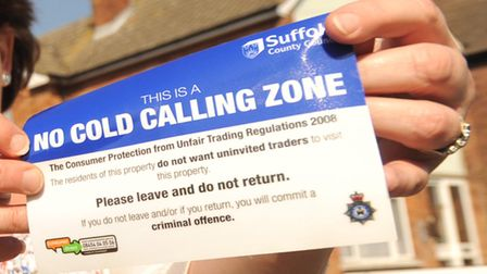 The attempted distraction burglary took place in Saffron Close, Brandon. Picture: ARCHANT LIBRARY