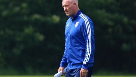 Ipswich Town manager Paul Lambert wants to keep a tight squad for 2019/20. Photo: Ross Halls