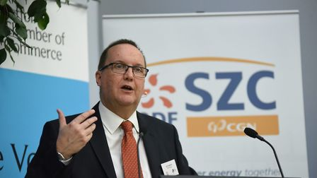 EDF Energy's Sizewell C project development director Jim Crawford Picture: SPRING