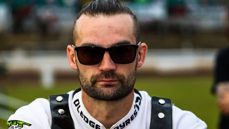 Danny Ayres, a good guest at Peterborough for the Witches. Picture: Steve Waller www.stephenwaller