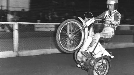 The 'Cowboy' John Cook, what an entertainer he was at Foxhall Photo: DAVE KINDRED