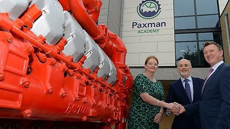 Paxman Academy has been completed and will be ready to open for students in Septmber. Carol Anne M
