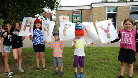 It was the third time the school had held a happiness festival Picture: RACHEL EDGE
