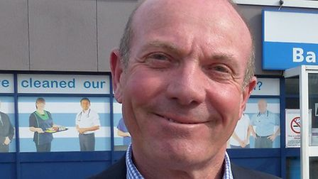 Nigel Beverley, who has been appointed interim chairman of the East of England Ambulance Service boa