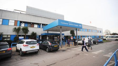 Mr Pugh was treated for his illness at Colchester General Hospital Picture: ARCHANT