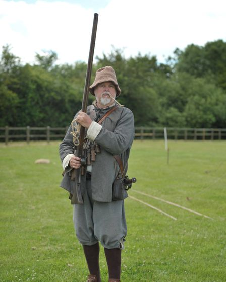 Tony Cullen ready for battle Picture: SARAH LUCY BROWN