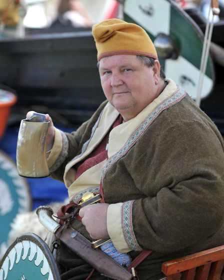The past came to life at the History Alive Stonham Barns day at Picture: SARAH LUCY BROWN