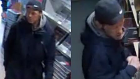 A man was seen robbing a Colchester Co-op shop in Haven Road - Do you recognise him? Picture: ESSEX