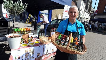 The Stowmarket Food and Drink festival takes place this weekend - Eddie Stableford on the 'Positivel