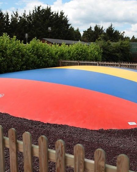 A bouncy pillow is one of the main attractions at the new soft play area in Colchester. Picture: CRA