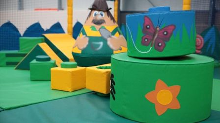 The new soft play area in Colchester. Picture: CRAFT NURSERIES GARDEN CENTRE