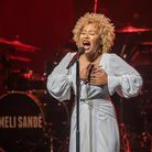 Emeli Sande performing on stage. She will be bringing her new show The Real Life tour to Ipswich Reg