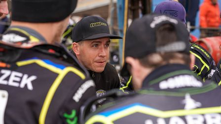 Witches team manager Ritchie Hawkins, more of the same from his team at Belle Vue. Picture: Steve