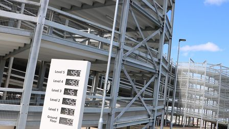 Stansted Airport's first multi-storey car park has opened for business, ready for the summer holiday