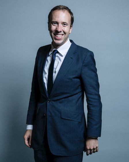 Matt Hancock, Conservative MP for West Suffolk Picture: HOUSE OF COMMONS