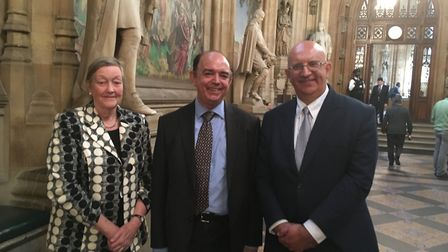 Councillor Louis Busuttil (on the right at the end) Picture: WEST SUFFOLK COUNCILS