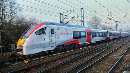 Greater Anglia's new Intercity trains will enter service later this year. Picture: GREATER ANGLIA/