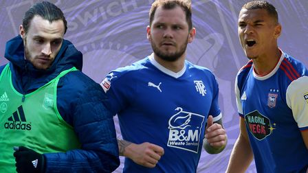 Ipswich Town have signed James Norwood (centre) from Tranmere and have previously shown interest in