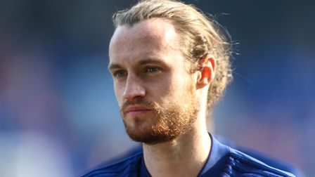 Will Keane impressed during his loan stay at Ipswich. Picture: STEVE WALLER WWW.STEPHENWALLER