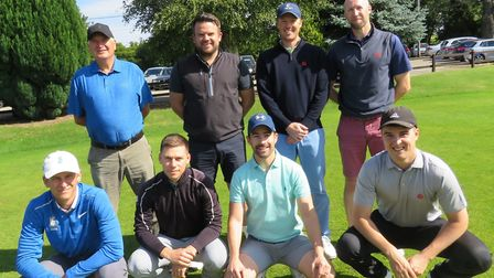 ALDEBURGH who won through to the quarter-finals of the Stenson Shield in a dramatic match at Stowmar