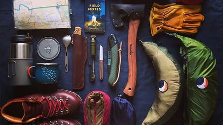 Will Wingfield and his wife Hannah have launched Wingfield's Quality Adventure Goods. Photo: Wingfie