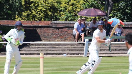 Skipper Tom Rash, who scored 49 with the bat and then returned figures of 10-4-11-1 in Milednhall's