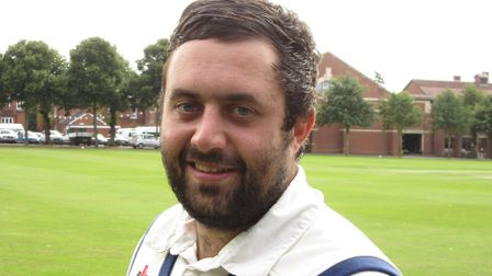 Ben Reece, who scored 72 not out in Sudbury's draw at Swardeston.