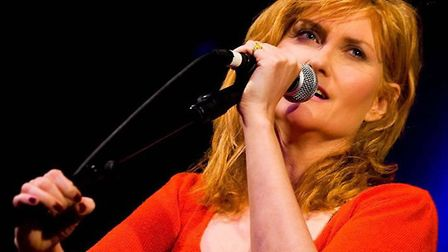 Eddi Reader who is playing The Apex, Bury St Edmunds, at the end of June